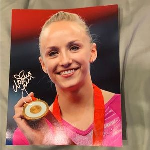 Other - Gymnastics Picture with Autograph